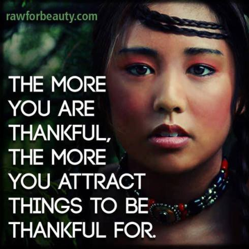 Attract things to be Thankful for