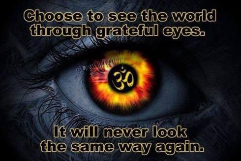 Look through Grateful eyes